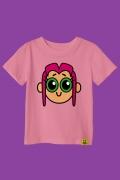 Camiseta Infantil Estelar Face