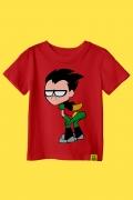 Camiseta Infantil Robin Pose