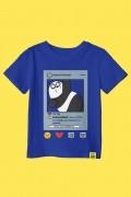 Camiseta Infantil Ursos Sem Curso Card