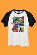 Camiseta Raglan As Meninas Superpoderosas BAM
