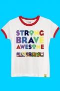 Camiseta Strange Brave