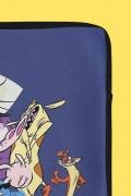 Capa de Notebook Cartoon Bovinos, Aves e Maneiros