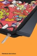 Capa de Notebook Clássicos Cartoon Abraço
