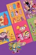 Kit Cartoon Network Clássicos Cartoon Cards + Adesivos