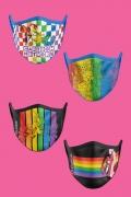 Kit com 4 Máscaras Cartoon Network Pride
