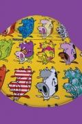 Mousepad Cartoon Vaca Parada