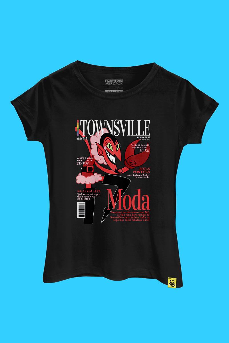 Camiseta As Meninas Superpoderosas Ele é Capa de Revista