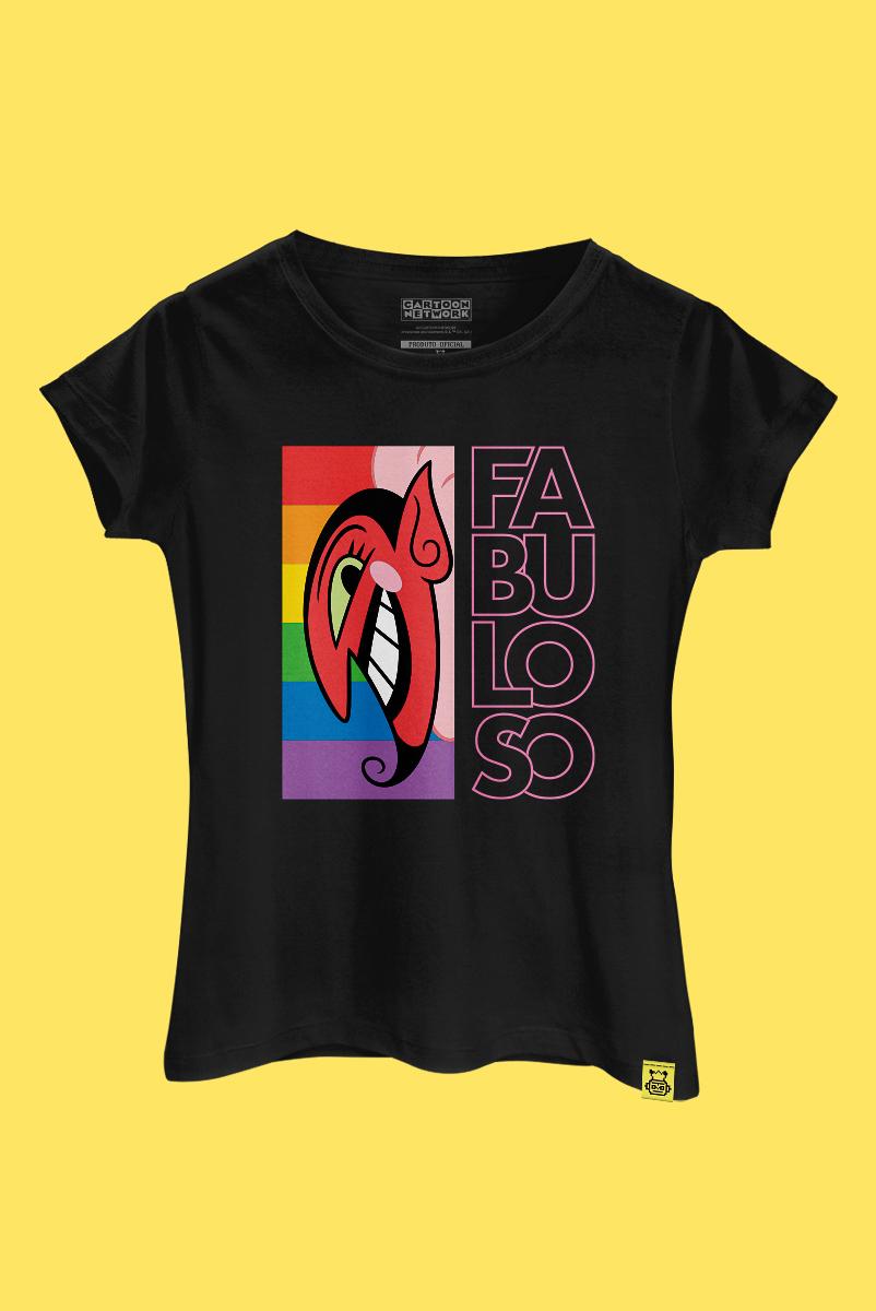 Camiseta As Meninas Superpoderosas Ele é Fabuloso