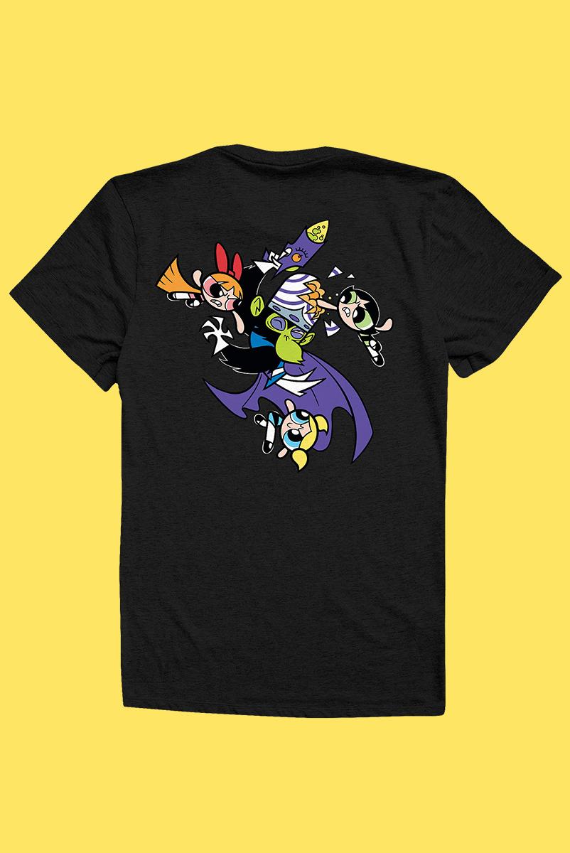 Camiseta As Meninas Superpoderosas Fight