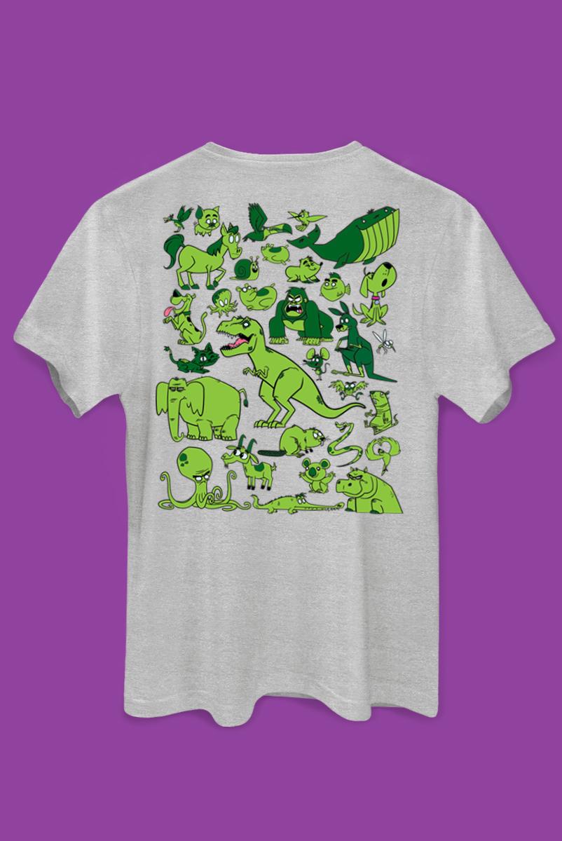Camiseta Mutano Universo