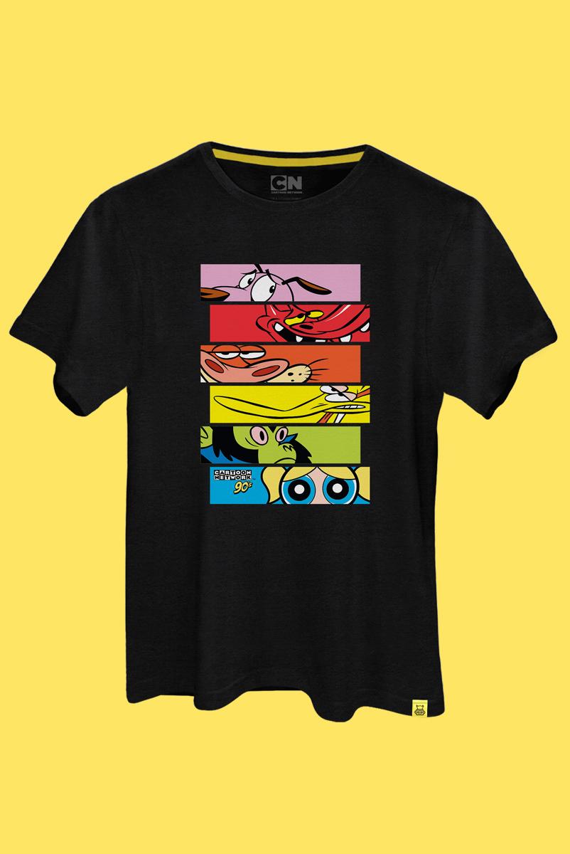 Camiseta Cartoon 90 Olhos
