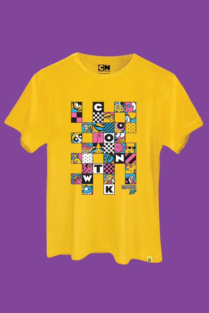 Camiseta Cartoon 90 Quadrinhos