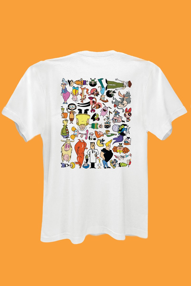 Camiseta Cartoon 90 Universo