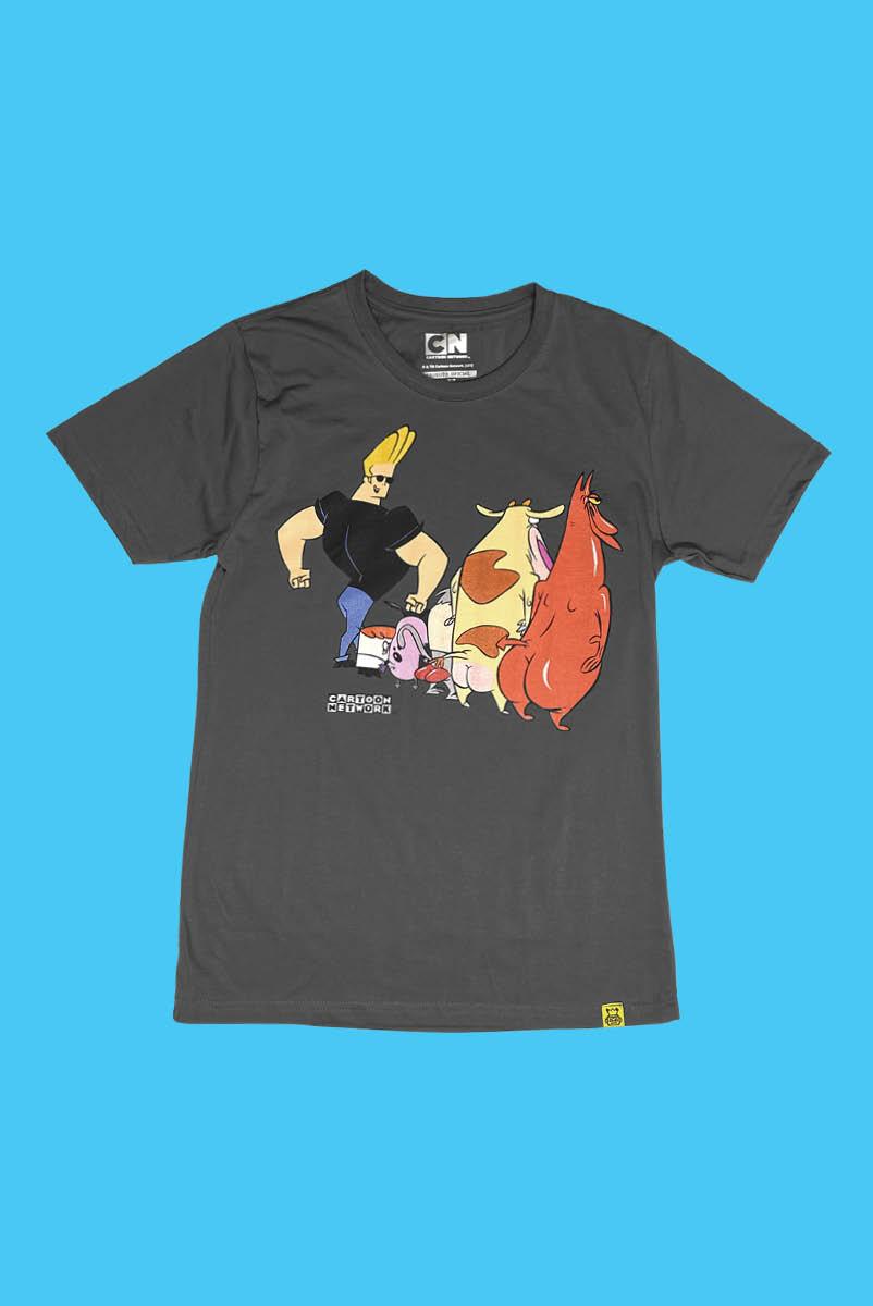Camiseta Cartoon Buns de Fora