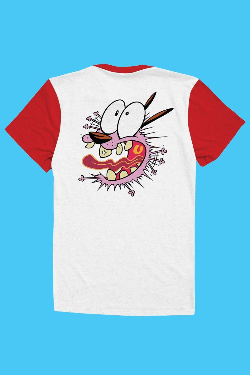 Camiseta Coragem, O Cão Covarde Assustado