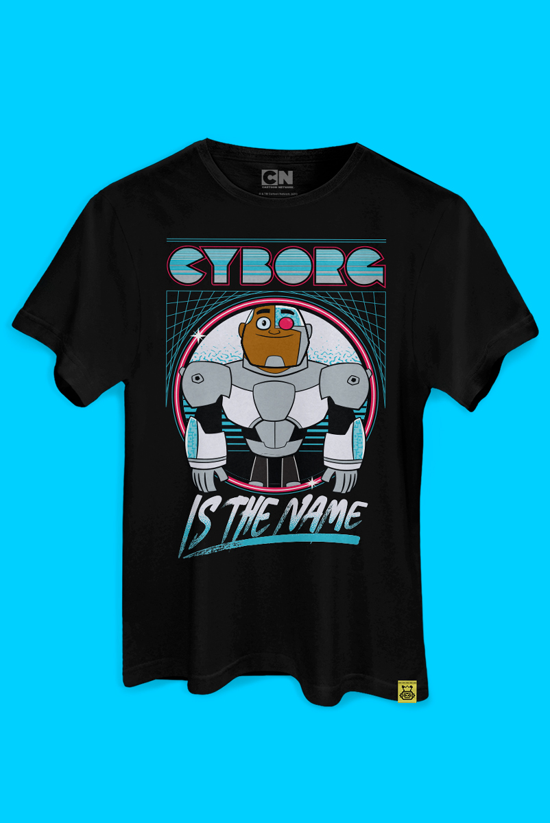 Camiseta Ciborgue Is The Name