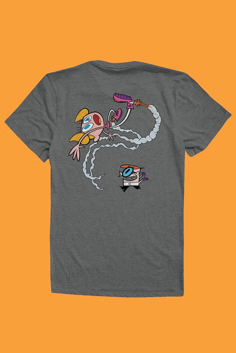 Camiseta Dexter e Dee Dee