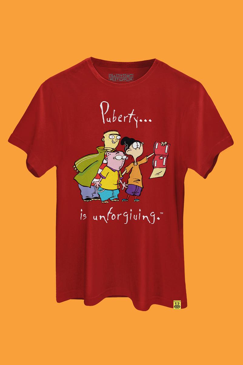 Camiseta Du, Dudu e Edu Puberty is Unforgiving