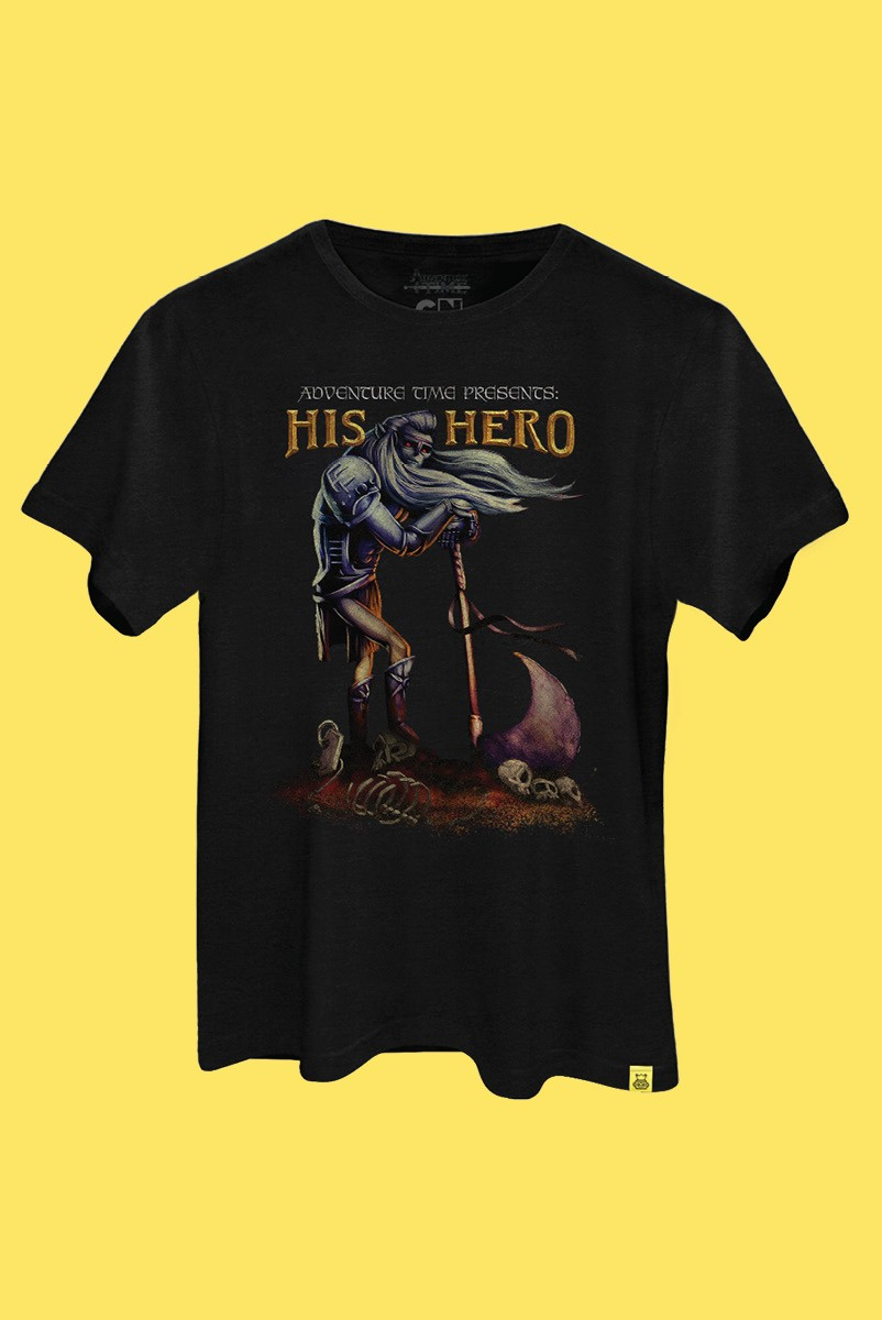 Camiseta Hora de Aventura His Hero