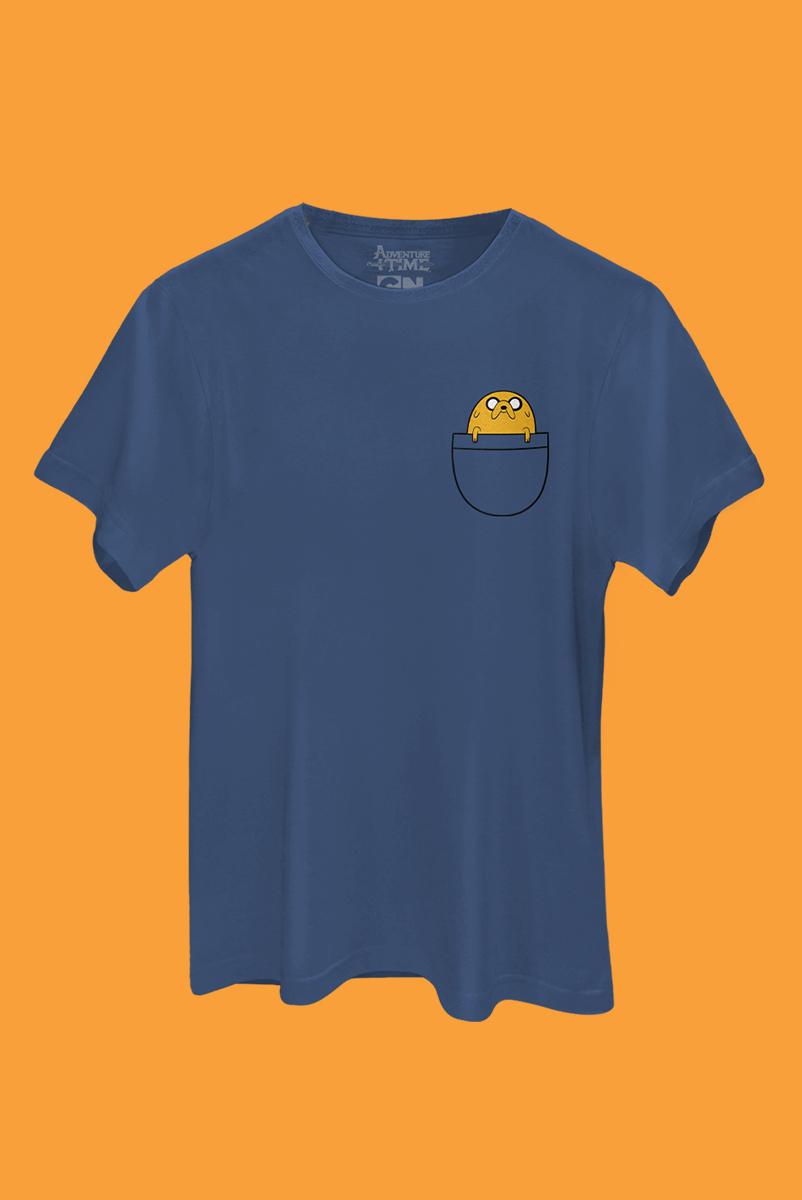 Camiseta Hora de Aventura Jake O Cachorro