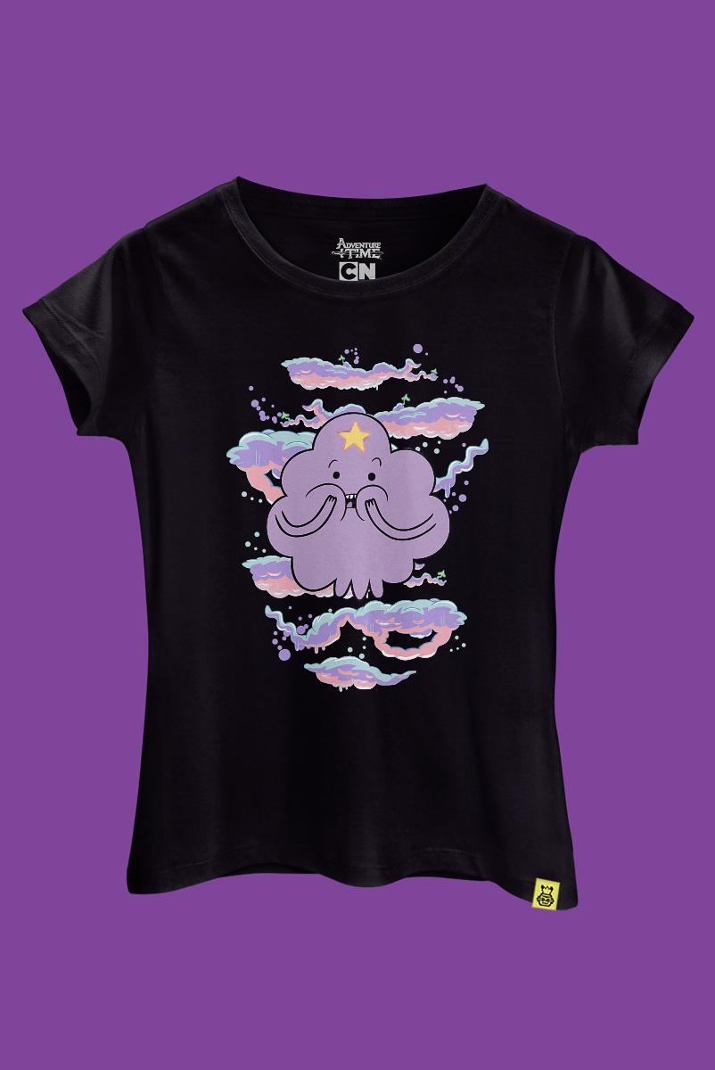 Camiseta Hora de Aventura Princesa Caroço