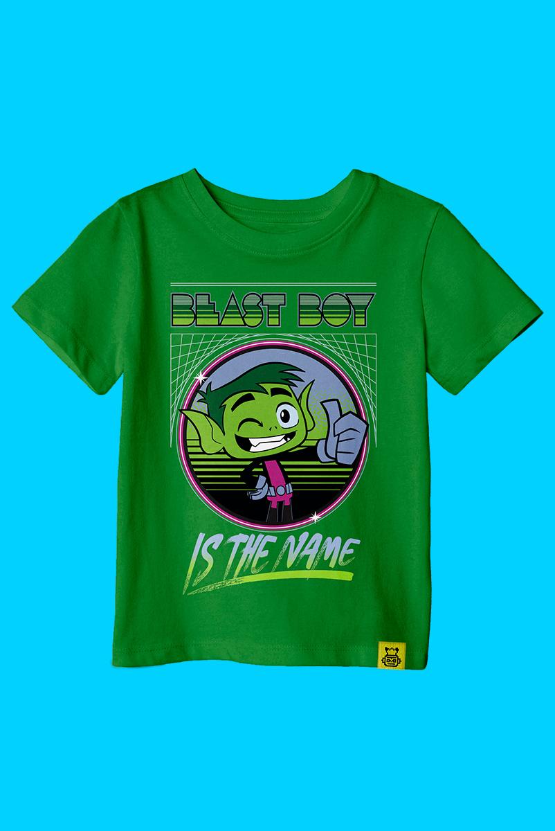 Camiseta Infantil Mutano Is The Name