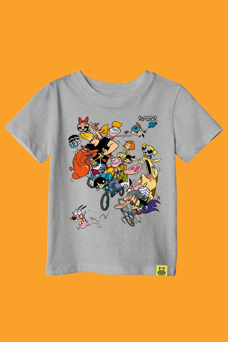 Camiseta Infantil Cartoon 90 Bike
