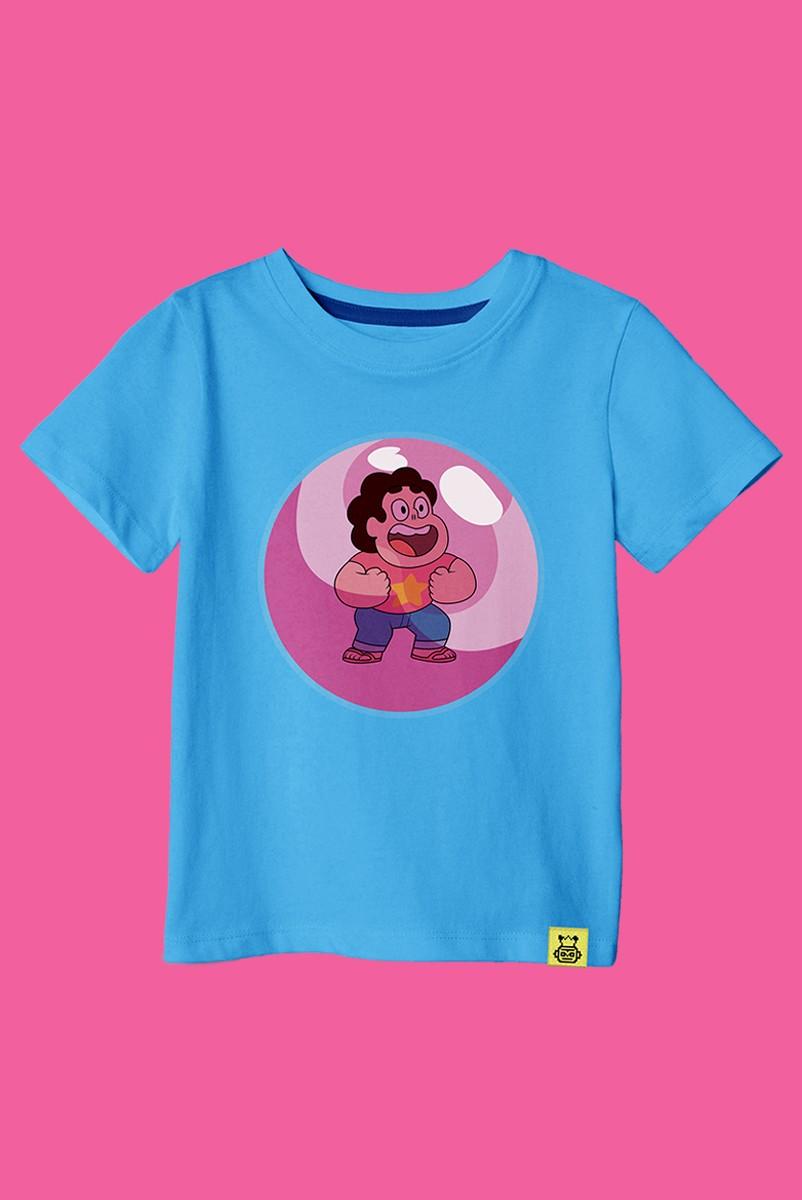 Camiseta Infantil Steven Universo Pose
