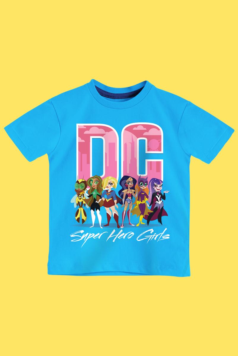 Camiseta Infantil Super Hero Girls