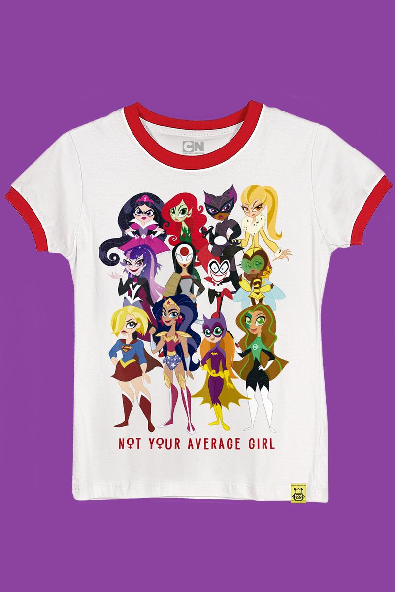 Camiseta Not Your Average Girl
