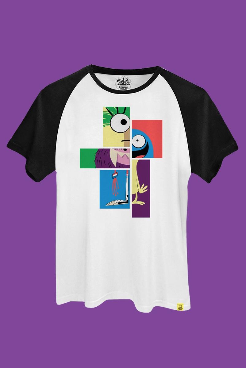Camiseta Raglan Mansão Foster Quadros
