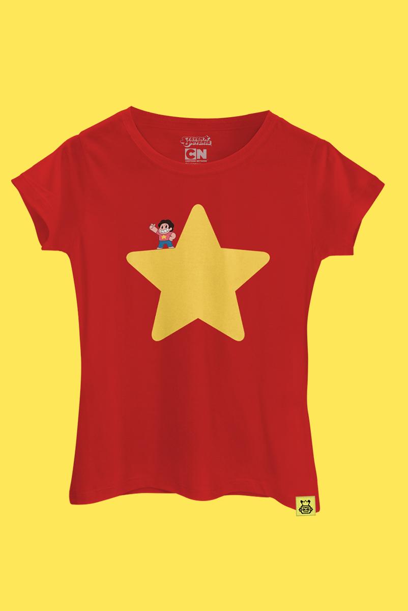 Camiseta Steven Universo Estrela