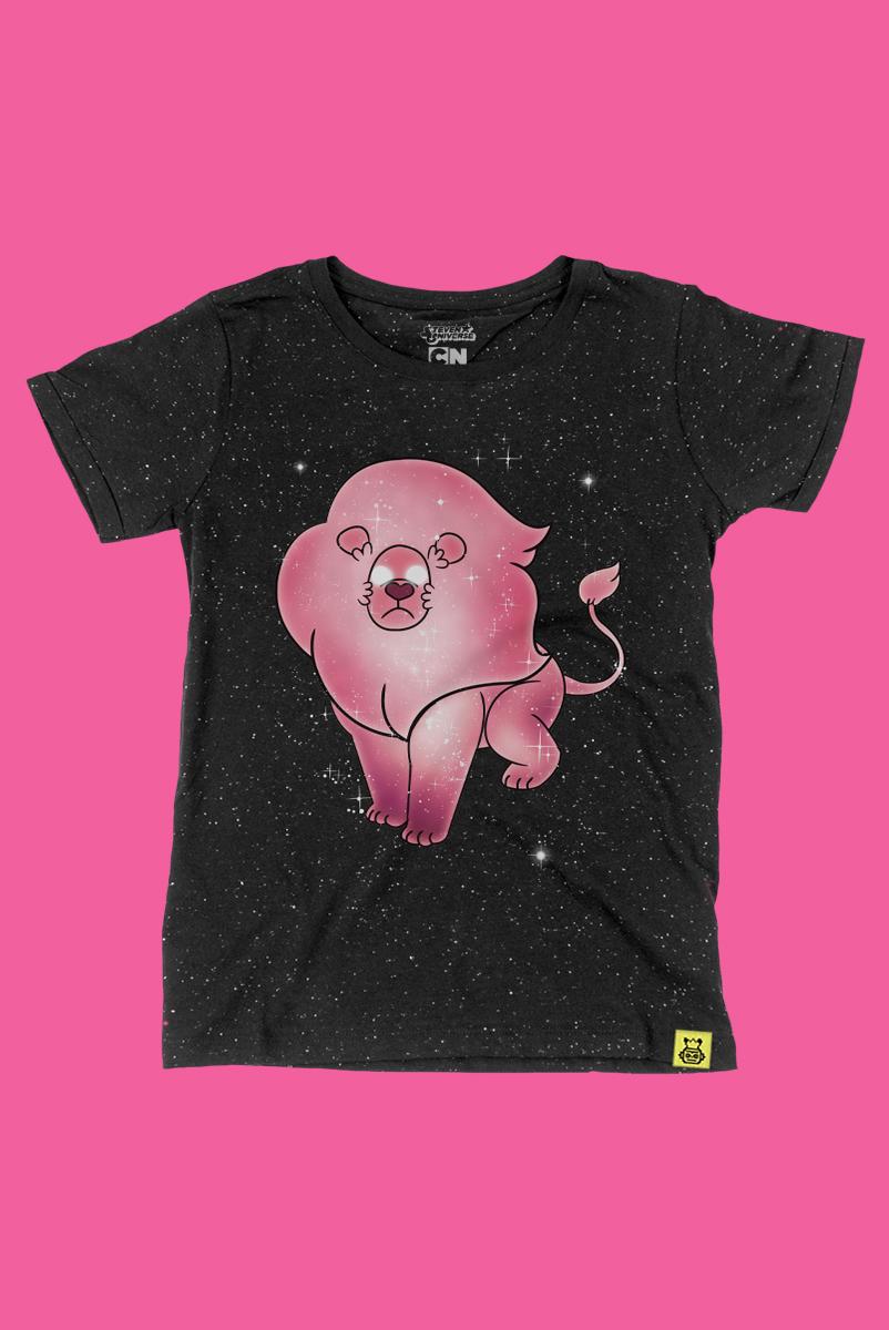 Camiseta Steven Universo Leão