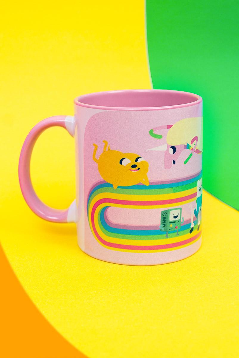 Caneca Hora de Aventura Lady Íris Rainbow
