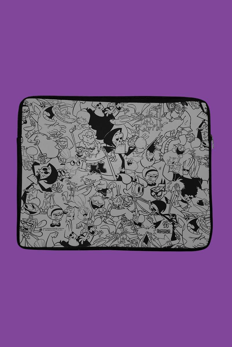 Capa de Notebook Cartoon Leite Derramado
