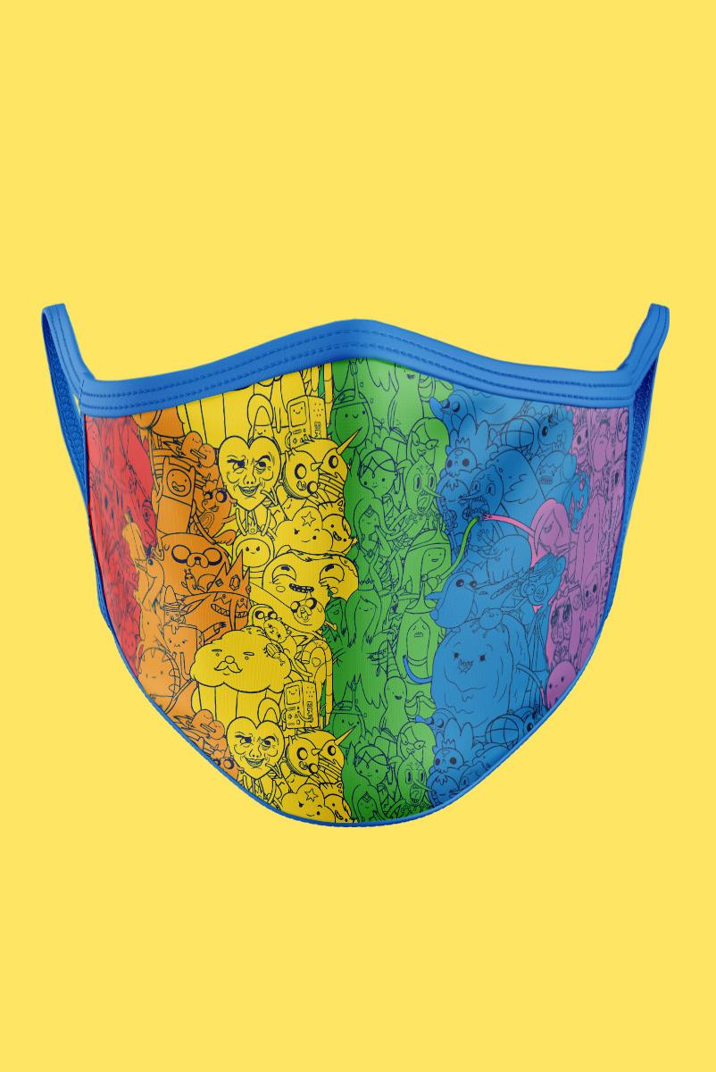 Máscara Hora de Aventura Rainbow