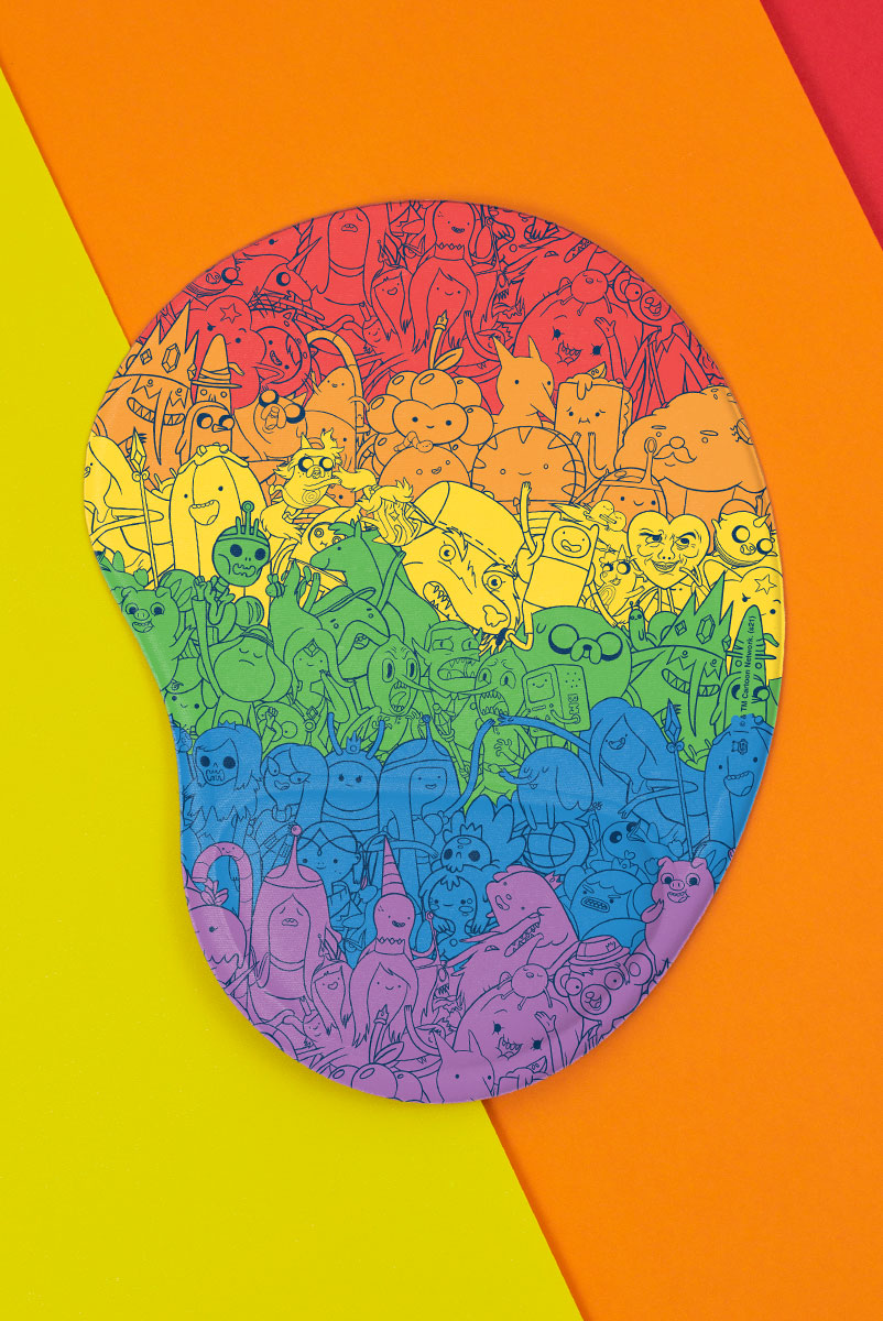 Mousepad Hora de Aventura Rainbow