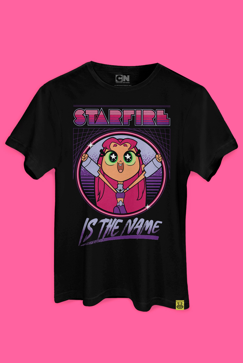 T-shirt Starfire Is The Name