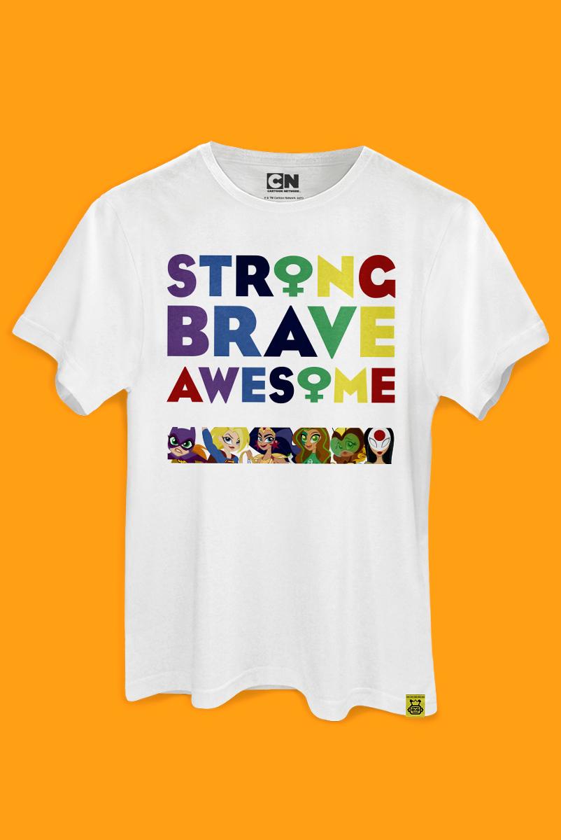 T-shirt Strange Brave