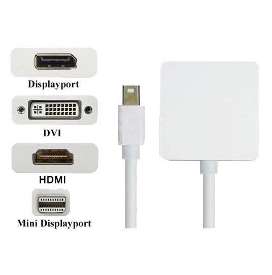 Adaptador Mini Display Port x HDMI - DVI - Display Port 25.142