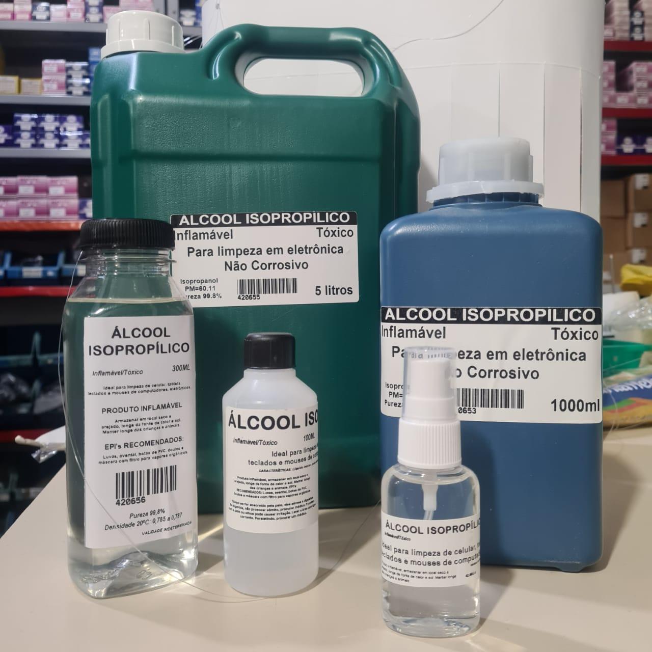 *Alcool Isopropilico 5 litros 42.065.5