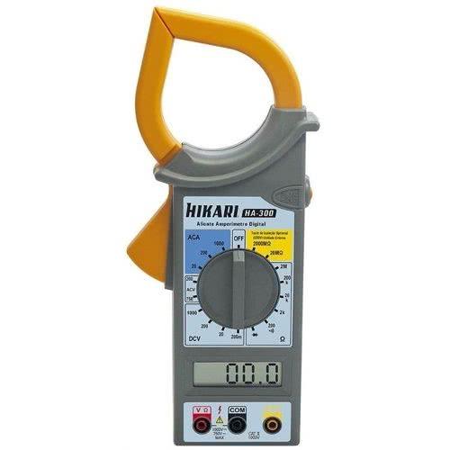 Alicate Amperimetro Digital HA300 Hikari 21N144  NPDRMS