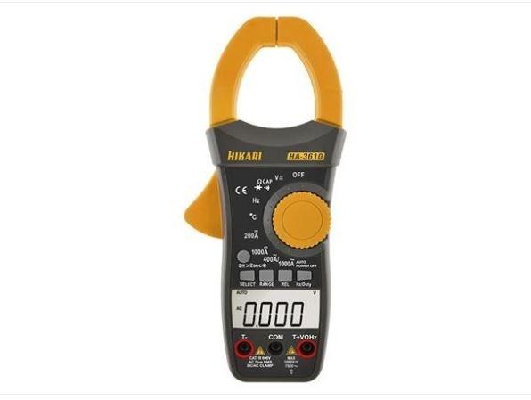 Alicate Amperimetro Digital HA3610 Hikari 21N231