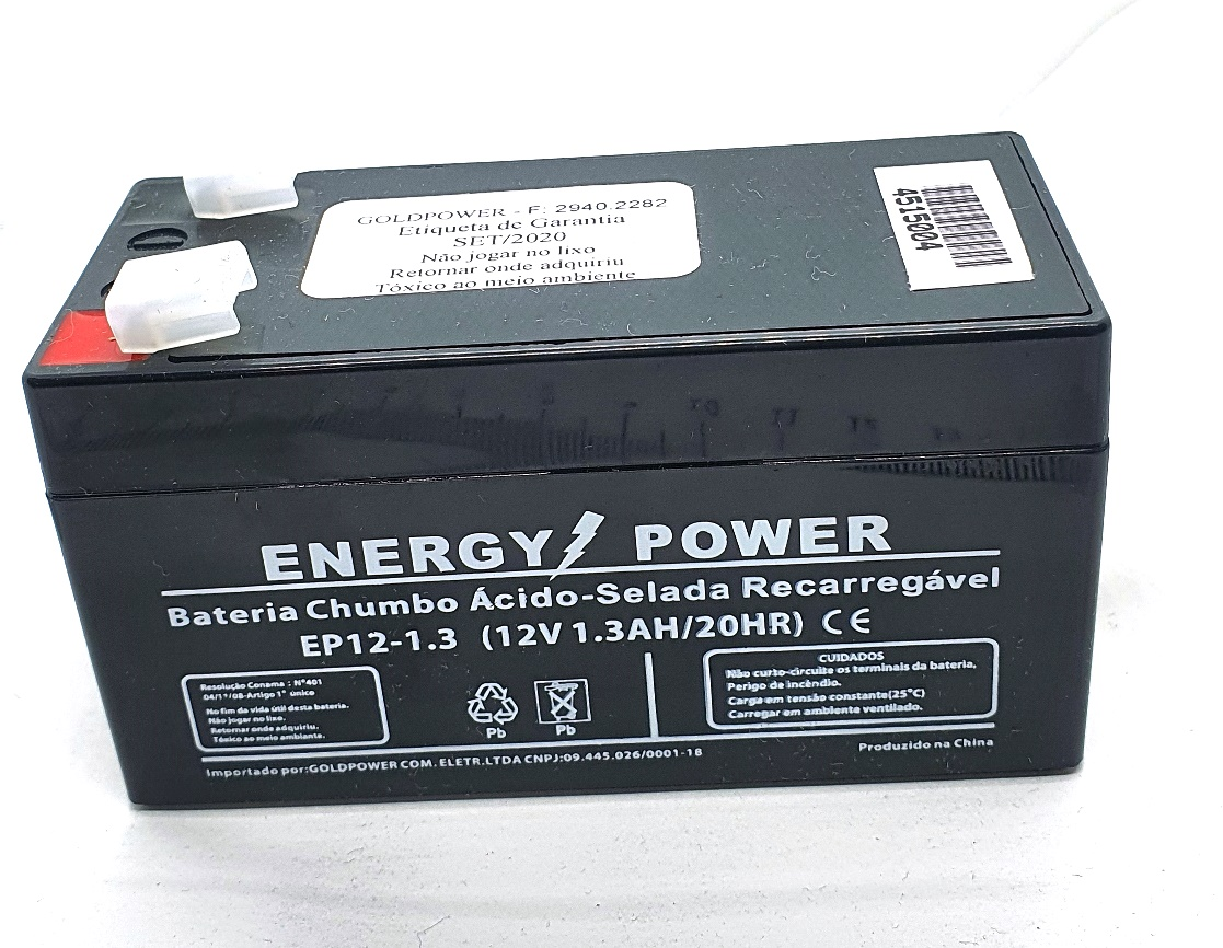 *Bateria Selada 12V X 1,3ah Up1213 45.15.004