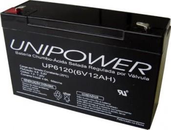 *Bateria Selada  6V X 12ah Up6120 45.15.008
