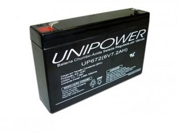 *Bateria Selada  6V X 7,2ah Up672 45.15.007