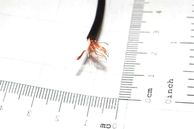 Cabo Coaxial Mono 0,20 / 0,23mm2 10.09.003