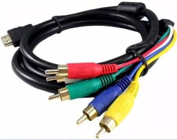 Cabo HDMI Macho X 5 RCA Video Componente 16.04.080
