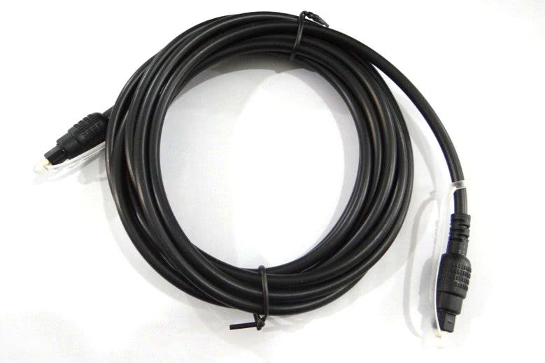 Cabo Optico Fibra Optica Audio e Video Digital  3m 15.11.001