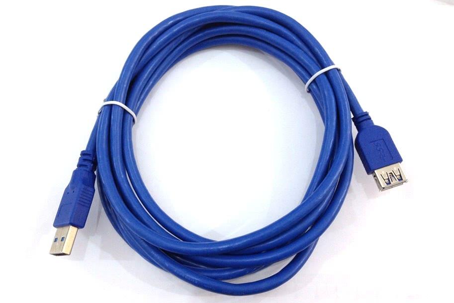 Cabo USB A Macho X USB A Femea   3m 3.0 Azul 16.09.079